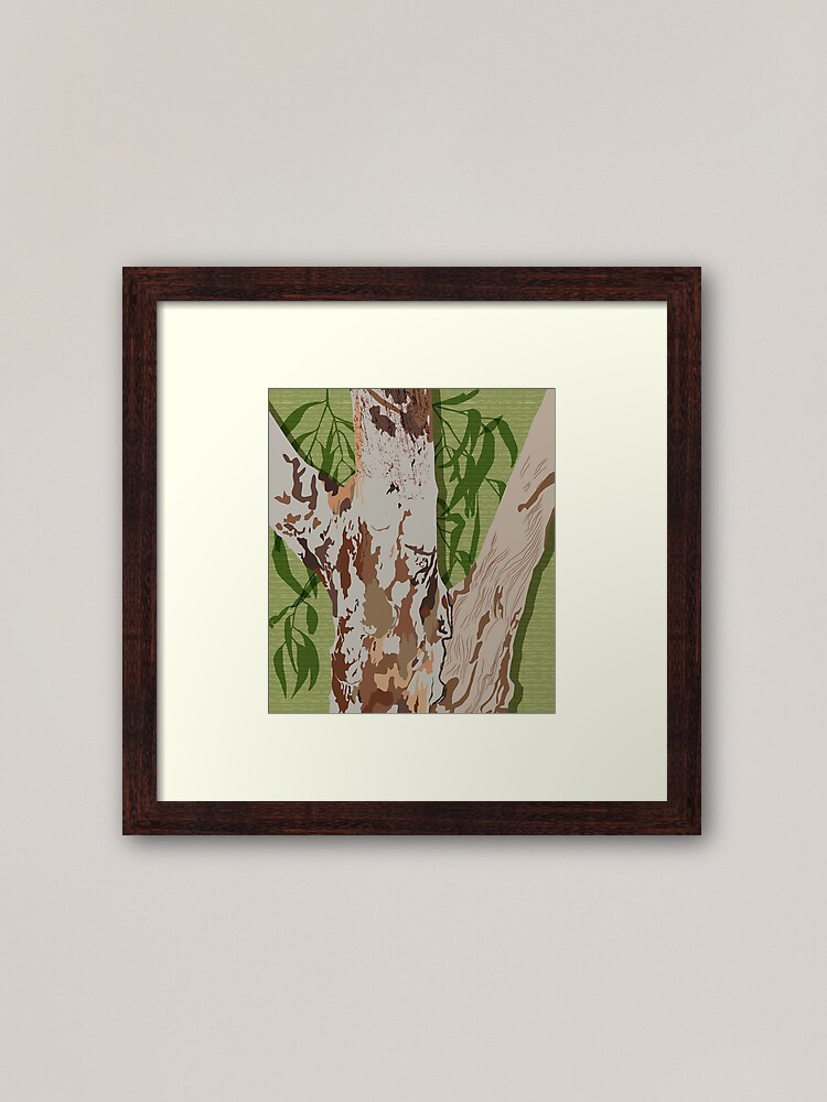 Alternate view of River Red Gum Tree Framed Art Print