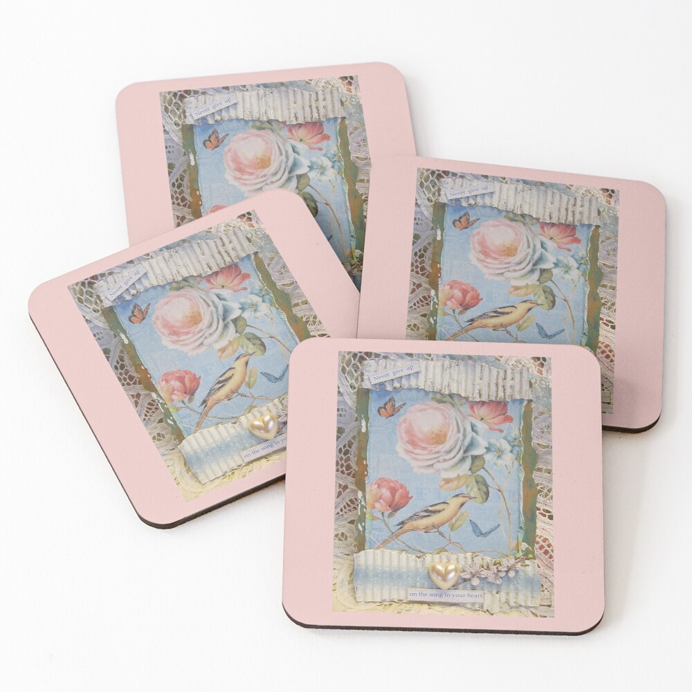 The Song in Your Heart Coasters (Set of 4)