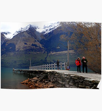 Glenorchy. South Island, New Zealand. (2) Poster