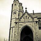 Church in Muenstermaifeld, Germany by NicoleBPhotos