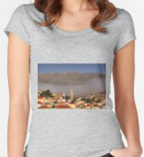 Morning Mist II Women's Fitted Scoop T-Shirt