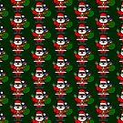 afrikanisches schwarzes Weihnachtsmann-Weihnachten von gossiprag