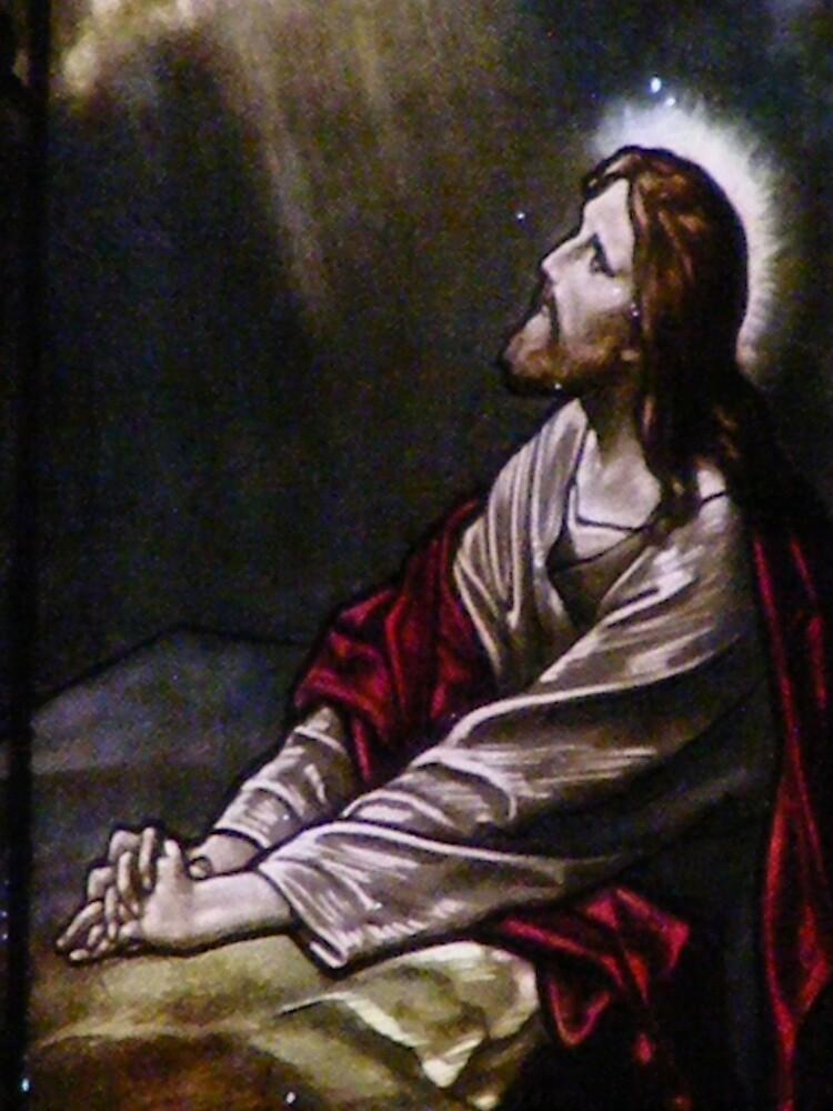 Son of Man prays to the Father by alexofalabama