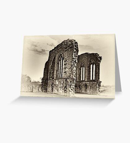 Egglestone Abbey Greeting Card