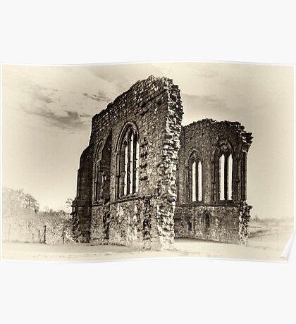 Egglestone Abbey Poster