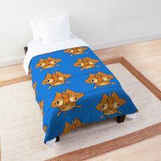 Orange Gold Fish Comforter