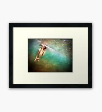 Hidden View ~ Young Love 3 Framed Print