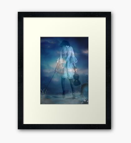 Wishful Sinful Framed Print