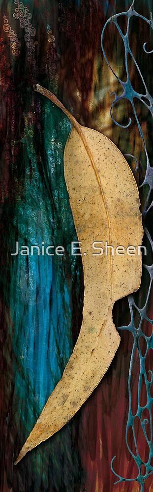 Gum leaf 2 by Janice E. Sheen