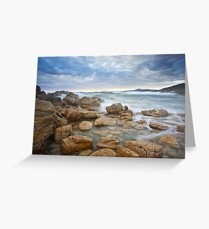 Rocky Cape Dawning Greeting Card