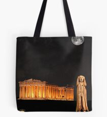 The Scream World Tour Athens Tote Bag
