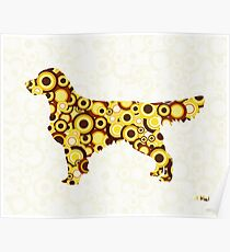 Golden Retriever - Animal Art Poster