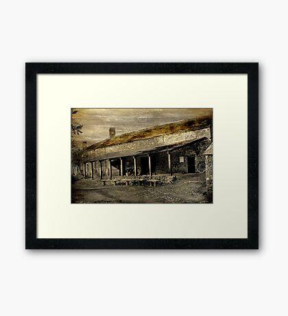 Morwelham Workshops Framed Print