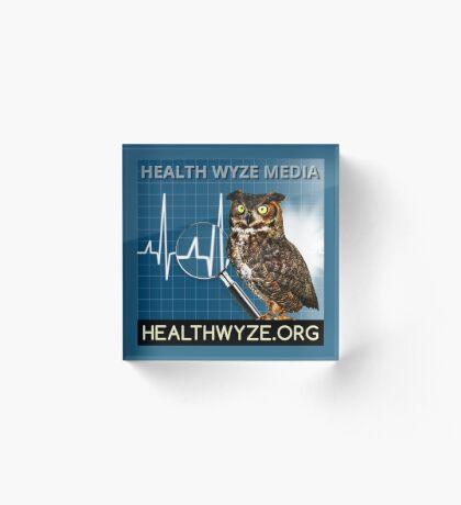 Health Wyze Media Acrylic Block