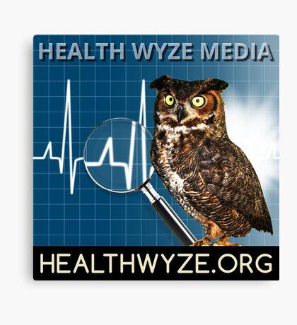 Health Wyze Media Canvas Print