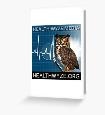 Health Wyze Media Greeting Card