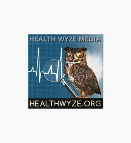 Health Wyze Media Art Board Print
