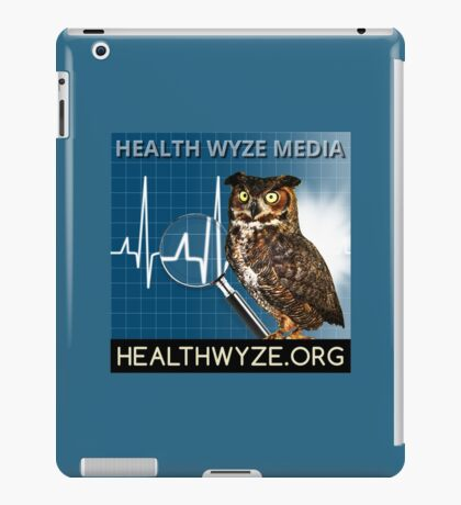 Health Wyze Media iPad Case/Skin