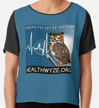 Health Wyze Media Chiffon Top