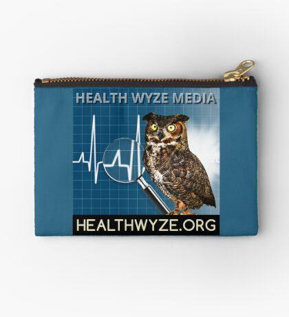 Health Wyze Media Zipper Pouch