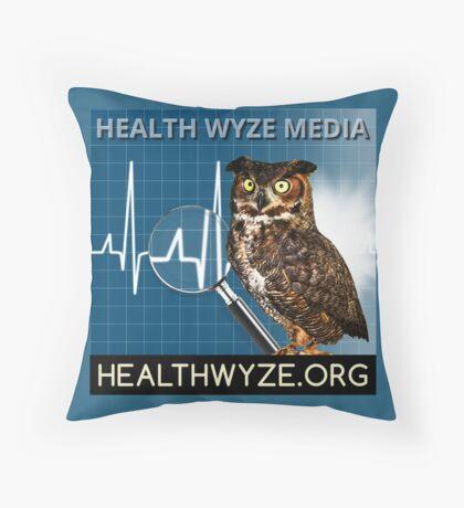 Health Wyze Media Throw Pillow