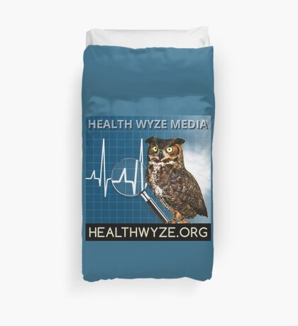 Health Wyze Media Duvet Cover