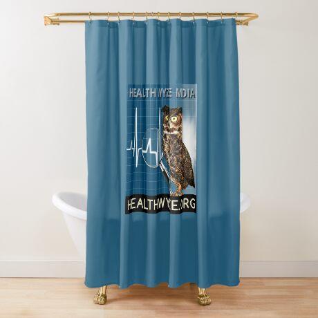 Health Wyze Media Shower Curtain