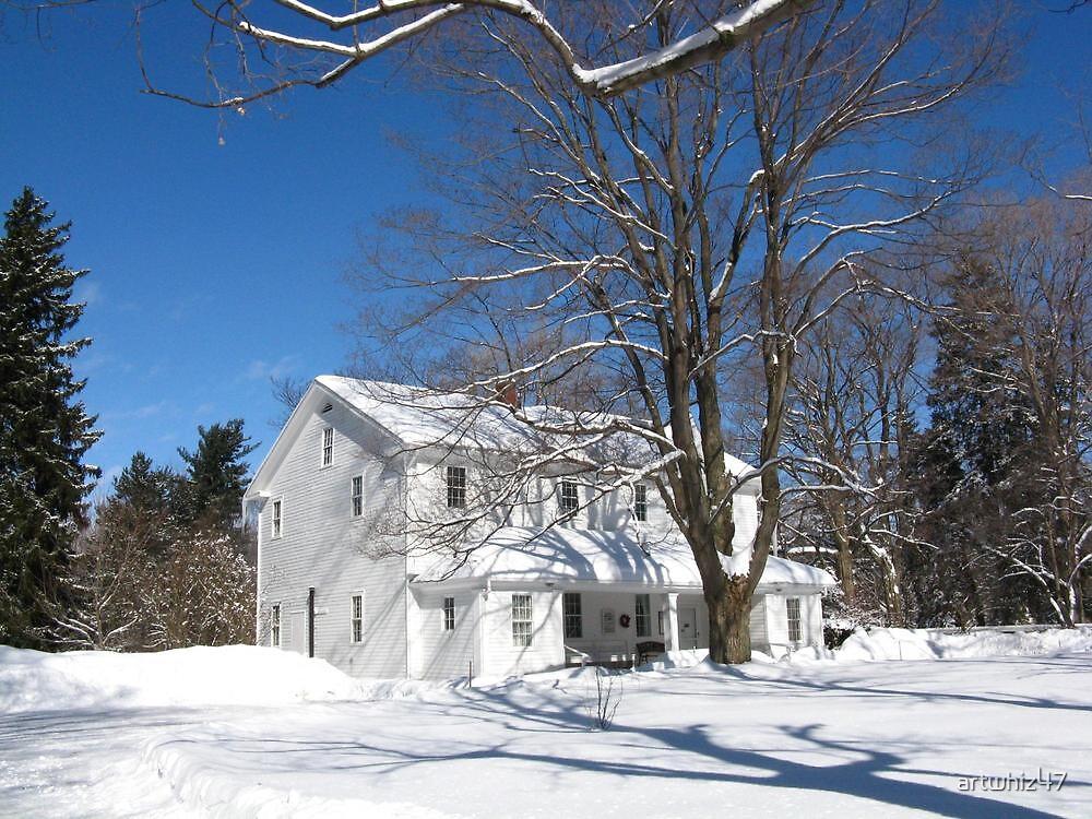 Quaker Meeting House, Orchard Park, NY by artwhiz47
