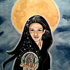 Witching Hour - Witch Art by CarolOchs