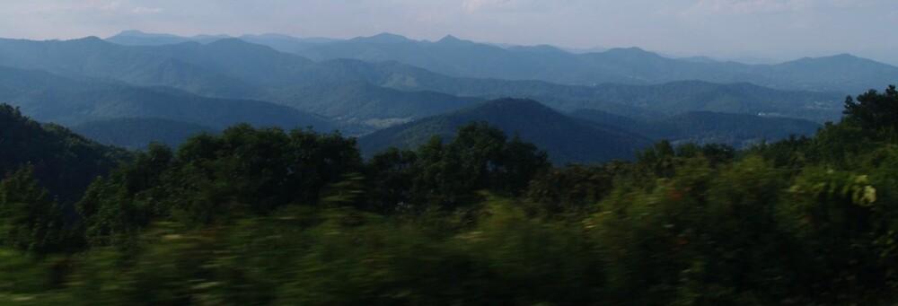 Blue Ridge Mountains by Shenandoah Bolding-Smith