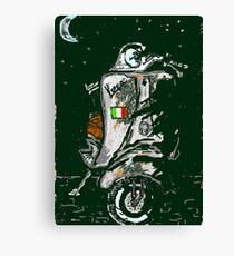 Vespa Scooter Canvas Print