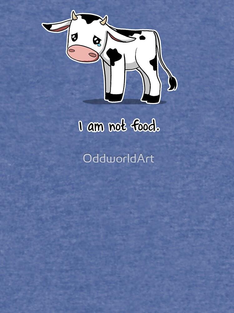 I Am Not Food by OddworldArt