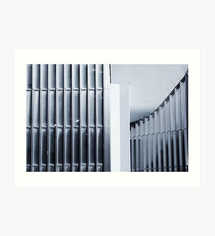 Urban geometries Art Print