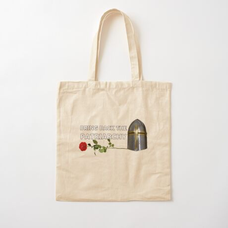 Bring Back the Patriarchy Cotton Tote Bag