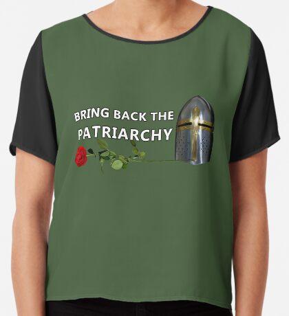 Bring Back the Patriarchy Chiffon Top