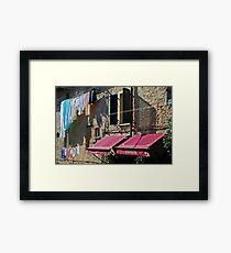 Panini-Volterra, Tuscany Framed Print
