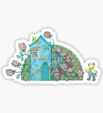 There's no place like home! Sticker