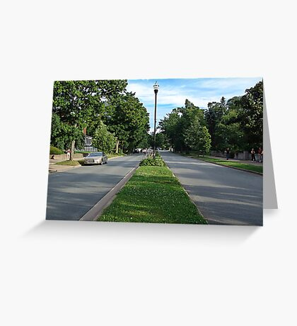 Halifax-Young Avenue Greeting Card