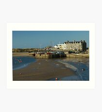 Barmouth Harbour No3 Art Print