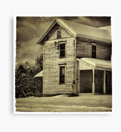 The Farmhouse Canvas Print