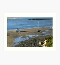 Barmouth Harbour No 6 Art Print
