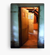 Sturgis Library Attic Canvas Print