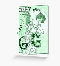 Gaslight Greeting Card