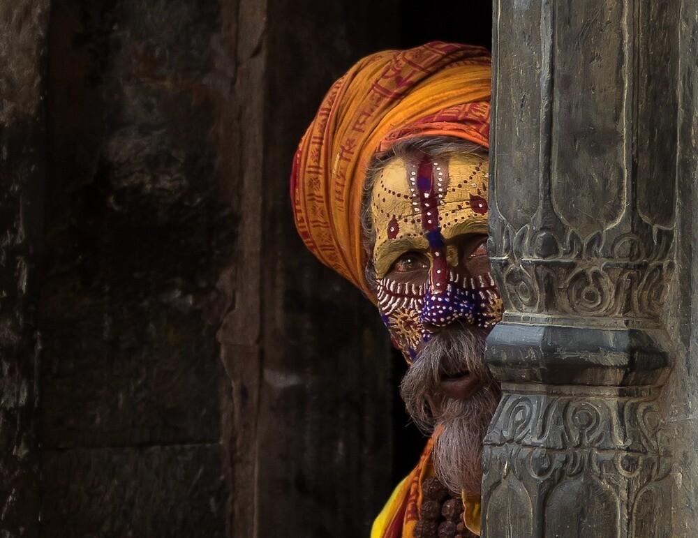 Sadhu, Pashupatinath by Rosstetlow
