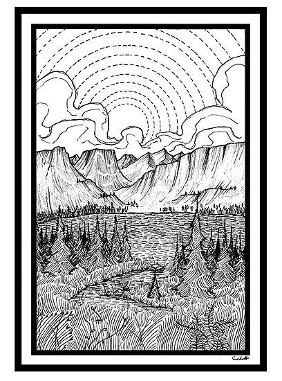 Mountains by Svedolf