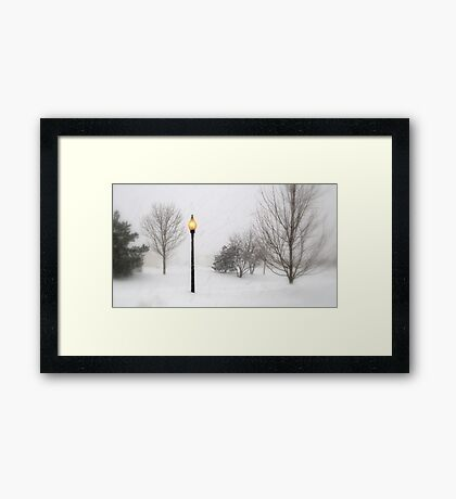 Blotting Out the Light of Day Framed Print