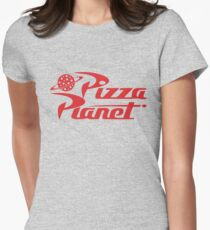 Pizza Planet shirt – Toy Story, Woody, Buzz Women's Fitted T-Shirt