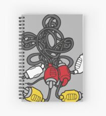 AV Mouse Spiral Notebook