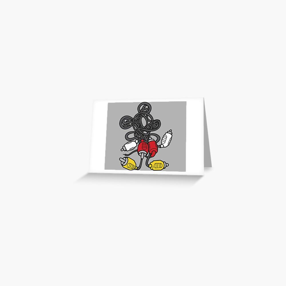 AV Mouse Greeting Card