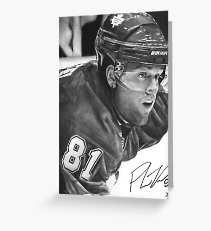 Phil Kessel Greeting Card